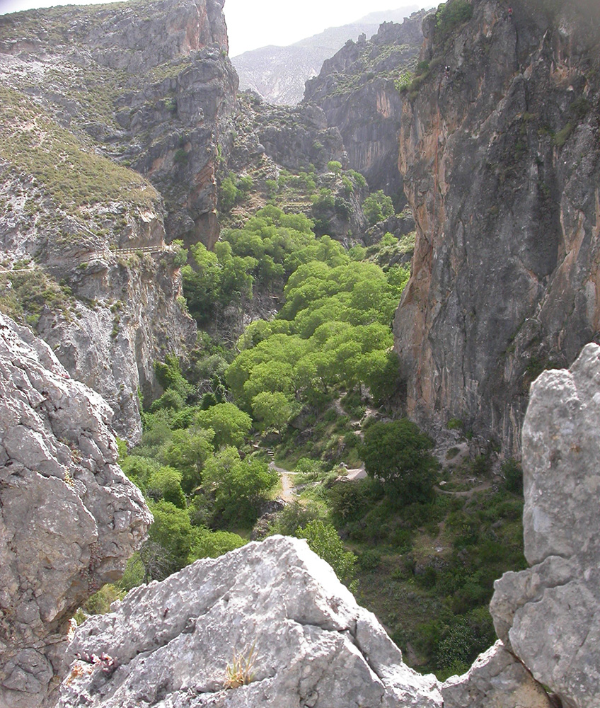 hiking Cahorros_ gorge